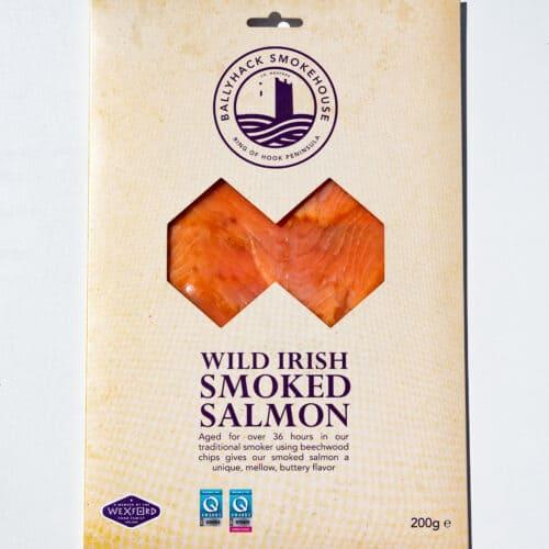 Wild irish smoked salmon retail pack