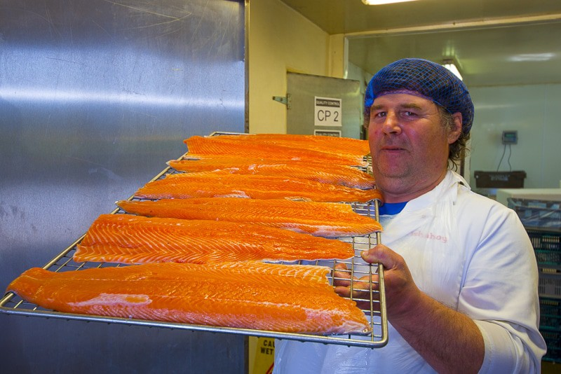 michael walsh smoked salmon